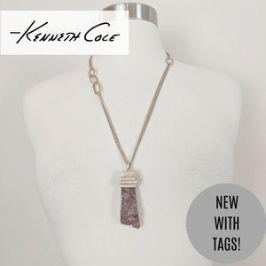 | Sale |Kenneth Cole • Stone Pendant Necklace
